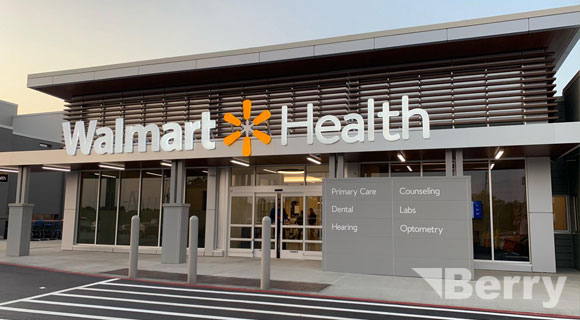 Walmart Medical Facilities - Medical Facilities Division of Berry Construction Inc.